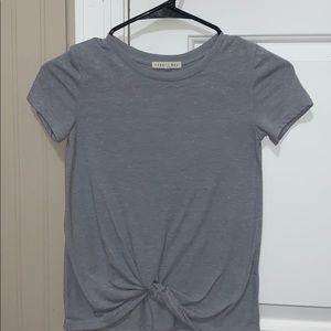 girls grey shirt